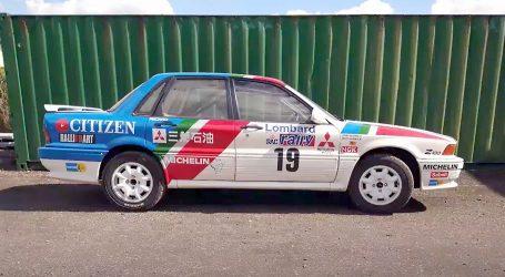 Mitsubishi Galant je bio jedna od zvijezda RAC relija