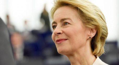 Predsjednica Europske komisije u samoizolaciji