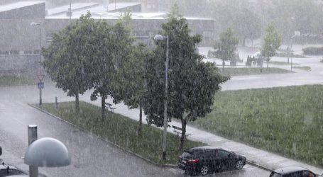 Nevrijeme pogodilo Zagreb i Zagorje