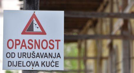 Urušila se kuća u Zagrebu, nema ozlijeđenih