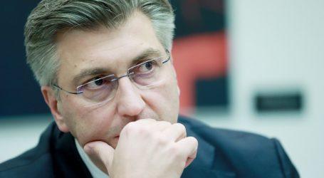 Iz HDZ-a potvrdili da je Plenković primio prijeteće pismo s bijelim prahom na adresi središnjice