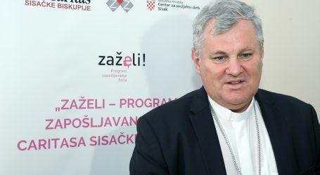 Biskup Košić pozitivan na koronavirus