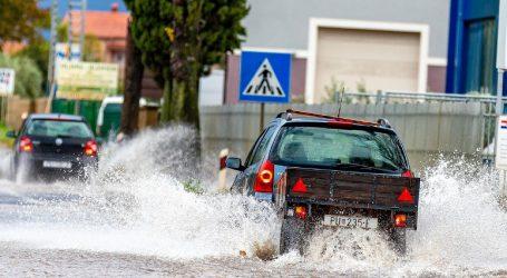 Vatrogasci u Rovinju zbog poplava intervenirali 32 puta