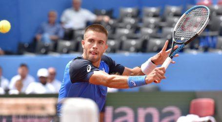 Borna Ćorić izborio četvrtfinale ATP turnira u St. Peterburgu