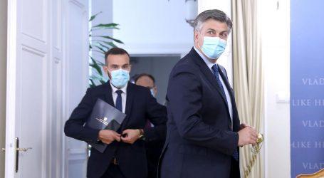 Plenković i Aladrović predstavljaju nove mjere za gospodarstvo