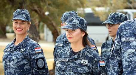 """Predstavljanje projekta """"Osnaživanje žena i podrška u vojnim snagama i mirovnim misijama RH"""