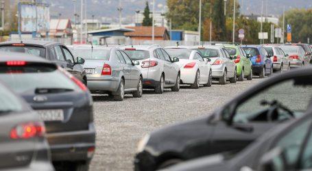 Novi punkt za testiranje na Velesajmu izazvao prometni kaos u Novom Zagrebu
