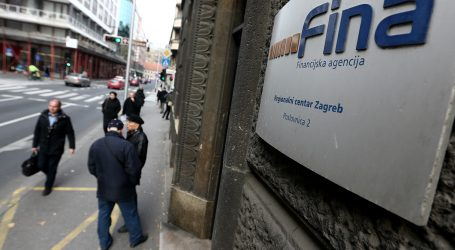 FINA: Blokirano 250.000 dužnika, njihov dug dosegnuo 16,4 mlrd kuna
