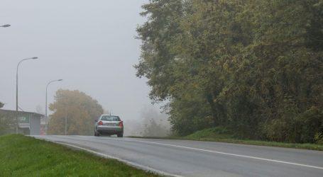 Kolnici vlažni i skliski, u unutrašnjosti ponegdje magla