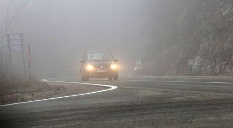 Magla smanjuje vidljivost, oprez zbog radova na cestama