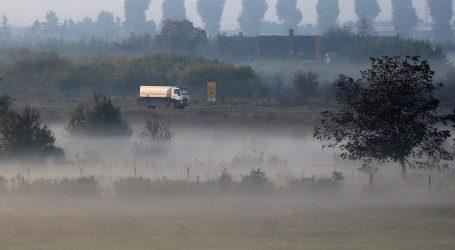 HAK upozorava na maglu u Slavoniji, smanjena je vidljivost