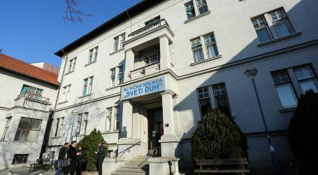 Deset zaraženih u KB Sveti duh u Zagrebu