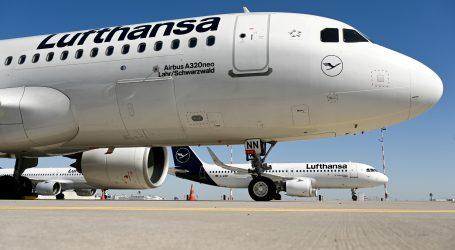 Lufthansa prekida promet prema gotovo svim zračnim lukama u Hrvatskoj