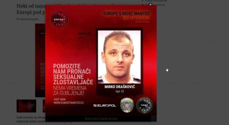 Na listi najtraženijih seksualnih prijestupnika i 53-godišnji hrvatski državljanin, u bijegu je već deset godina