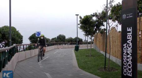 Stanovnici Lime dobili nove biciklističke staze i šetnicu uz ocean