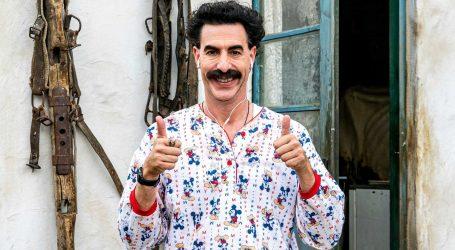 """Kompaniji Amazon isplatila se kupnja filma """"Borat 2"""" za 80 milijuna dolara"""