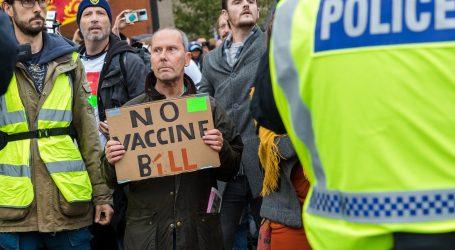 Tisuće ljudi na prosvjedu strogih ograničenja u Londonu