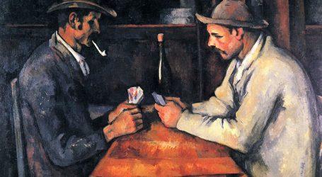 Kartaši Paula Cézannea, slika koja ima pet verzija