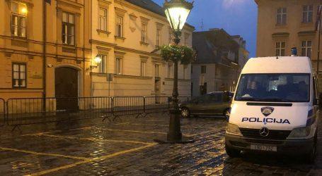 Zagrebačka policija izvijestila o posebnom režimu na Trgu sv. Marka, tko će i pod kojim uvjetima moći dolaziti