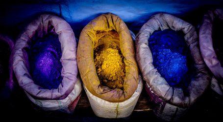Azijska tradicija bojenja tkanina se bazira na prirodnim pigmentima