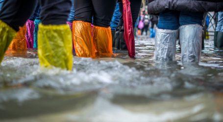 Najavljene oluje u Veneciji, vlasti prvi put pokrenule kontroverzni sustav vrijedan milijarde eura