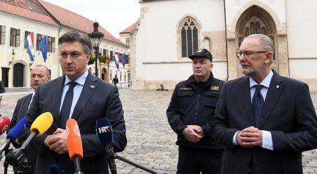 Plenković i Božinović: Pooštravamo mjere, ali lockdown nije opcija