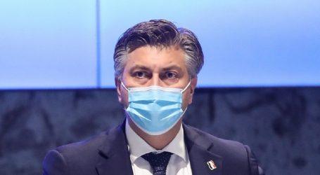 """Plenković: """"Imamo naznake da su naše mjere počele djelovati"""""""