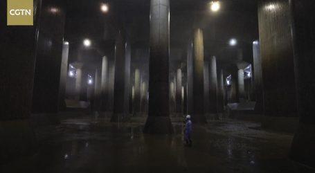Tokio je zaštićen od poplava velikim sustavom podzemnih dvorana