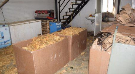 Zaplijenjeno više od sedam tona duhana za ilegalnu preprodaju