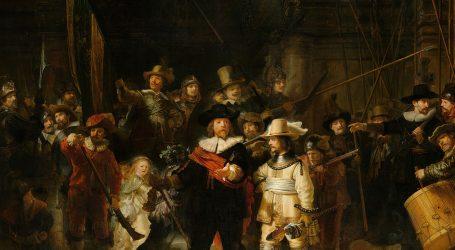 Rembrandtova 'Noćna straža', grupni portret bez poziranja