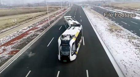 "Gradom Harbinom će voziti tramvaji na ""virtualnim"" tračnicama"