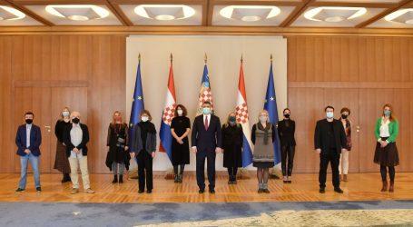 Predsjednik Milanović primio predstavnike Hrvatskog saveza udruga za mentalno zdravlje