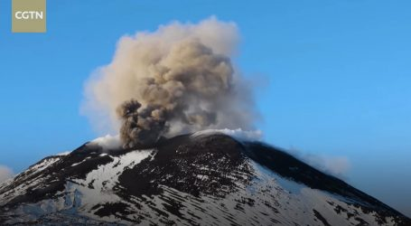 Vulkan Etna ponovno se 'probudio', pogledajte odlične snimke