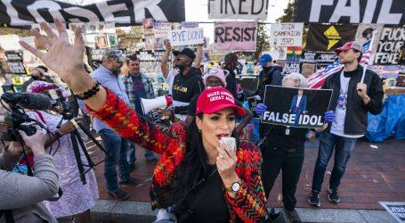 Trumpove pristaše izlaze na ulice, dok on nastavlja s tvrdnjama o izbornoj prijevari