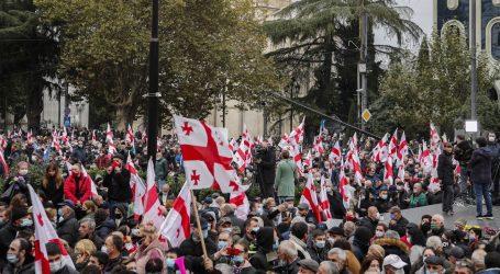 Tisuće Gruzijaca prosvjedovalo protiv rezultata izbora