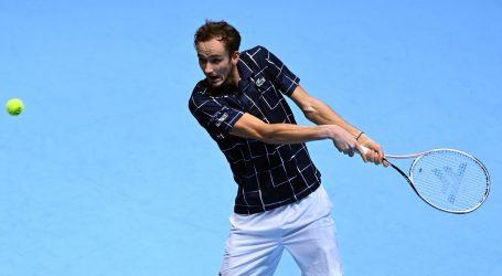 ATP finale: Medvjedev lako protiv Zvereva