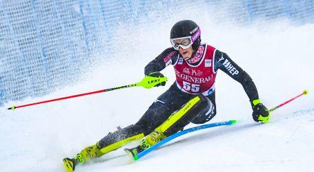 Slalom u Leviju: Rezultat karijere Leone Popović, pobjeda Vlhove