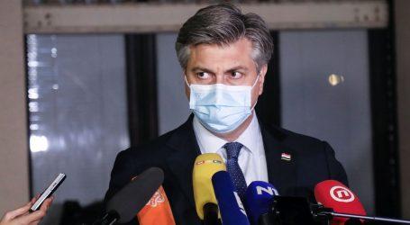 """Plenković nakon Vijeća za nacionalnu sigurnost: """"Bio je to sjajan sastanak"""""""