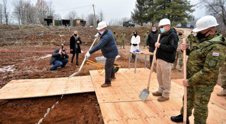 Počela izgradnja vojne ambulante u Slunju