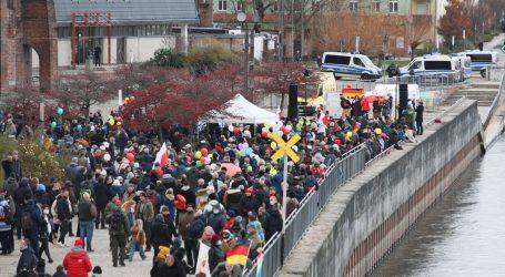 Na njemačko-poljskoj granici prosvjedi protiv restriktivnih mjera