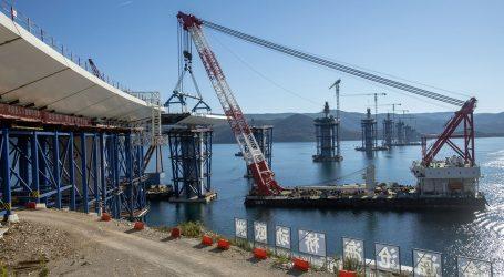 Pandemija nije zaustavila gradnju Pelješkog mosta