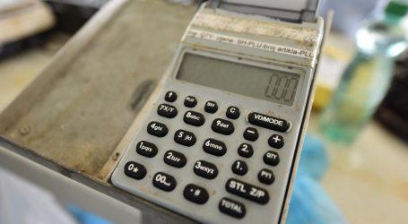 Pad vrijednosti fiskaliziranih računa od početka koronakrize premašio 25 milijardi kuna
