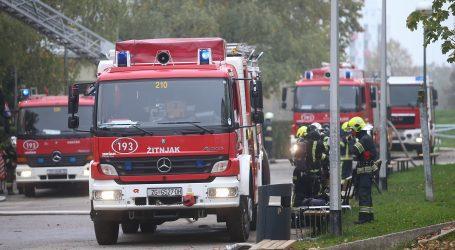 ZAGREB: Urušio se strop u objektu na Zavrtnici, vatrogasci spasili četvero ljudi