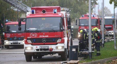 Požar u trgovačkom centru na zapadu Zagreba, brzo je ugašen