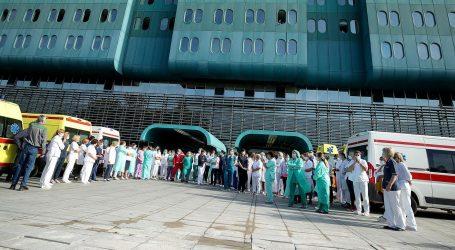 """Prosvjed u Dubravi: """"Covid pacijenti pretvoreni u pacijente drugog reda"""""""