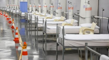 Arena spremna za prihvat prvih pacijenata