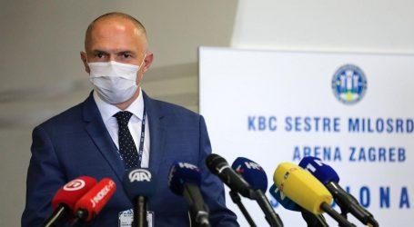 Prvi pacijenti primljeni u Arenu Zagreb, voditelj stacionara Vagić objasnio kako sve funkcionira