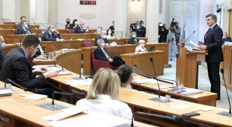 Saborski zastupnici raspravljaju o rebalansu proračuna