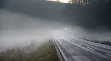 HAK: Magla smanjuje vidljivost