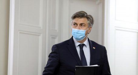 """Plenković: """"Uredu predsjednika ide prijedlog nekoliko termina za sastanak VNS-a"""""""